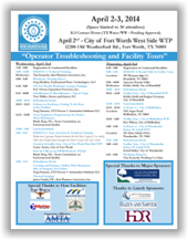 SCMA 2-Day Workshop - Apr. 2-3, 2014 - Fort Worth, TX @ Fort Worth Westside Water Treatment Plant | Fort Worth | Texas | United States