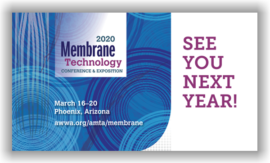 2020 Membrane Technology Conference & Exposition - Phoenix, AZ - March 16-20, 2020 @ Phoenix Convention Center | New Orleans | Louisiana | United States