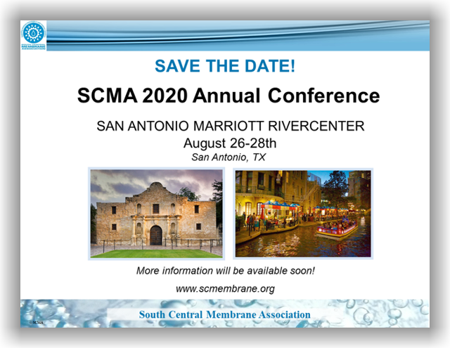 SCMA 2020 Annual Conference & Expo - San Antonio, TX - August 26-28, 2020 @ San Antonio Marriott Rivercenter